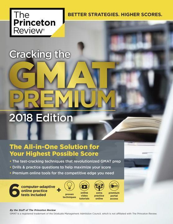 Cracking Gmat Premium 2018 als Buch von Geoff Martz, Adam Robinson