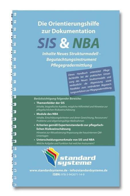 Die Orientierungshilfen zur Dokumentation SIS & NBA als Buch von