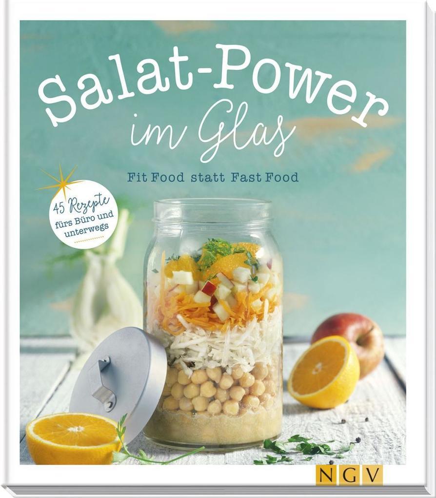 Salat-Power im Glas als Buch von Maja Nett, Nina Engels