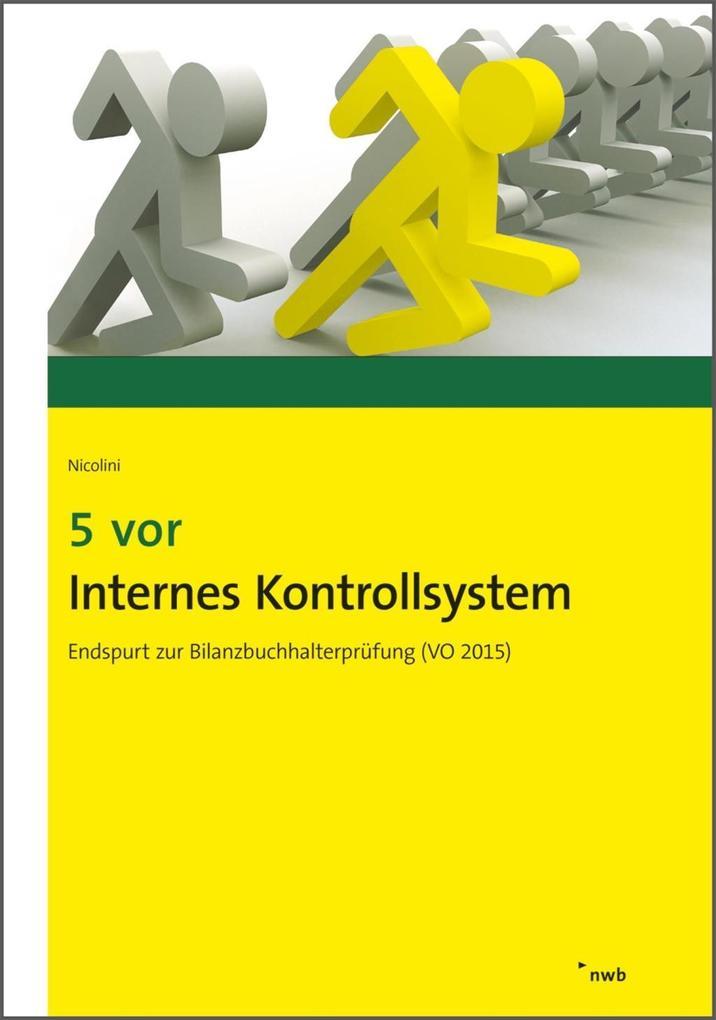 5 vor Internes Kontrollsystem als eBook von Hans J. Nicolini