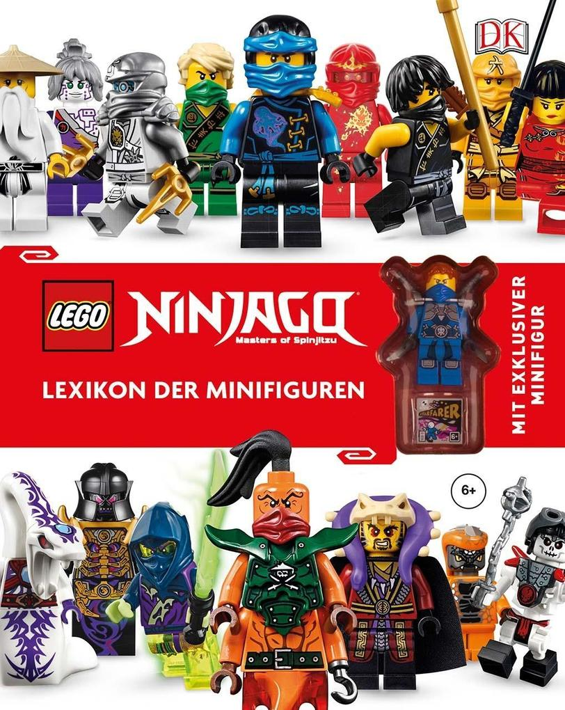 LEGO® NINJAGO® Lexikon der Minifiguren als Buch von Claire Sipi