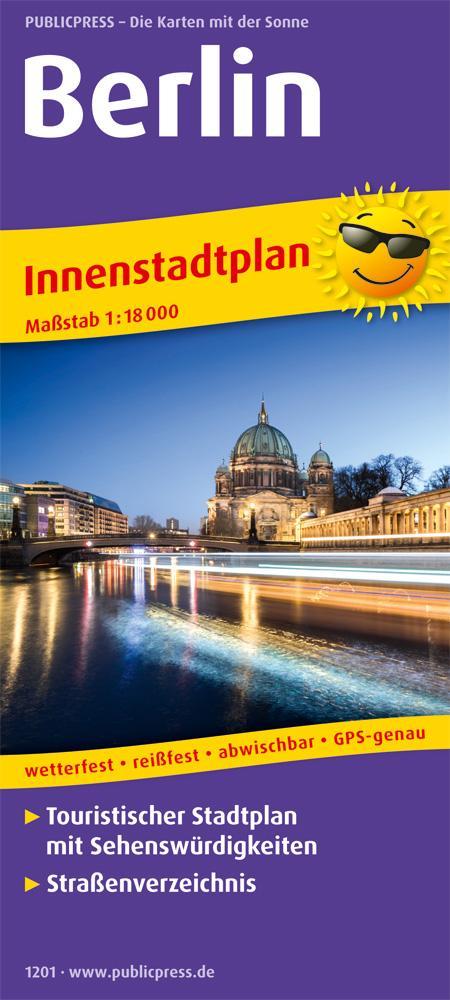 Berlin. Innenstadtplan als Buch von
