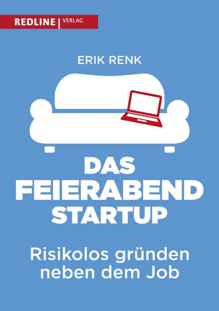 Das Feierabend-Startup als Buch von Erik Renk