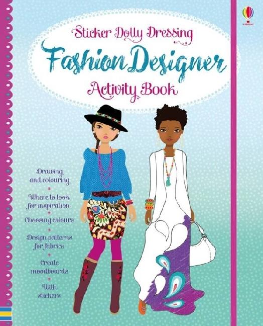 Sticker Dolly Fashion Designer Activity Book al...