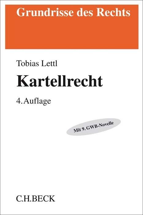 Kartellrecht als Buch von Tobias Lettl