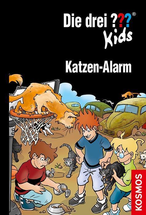 Die drei ??? Kids. Katzen-Alarm (drei Fragezeichen) als Buch von Karen-Susan Fessel, Ulf Blanck