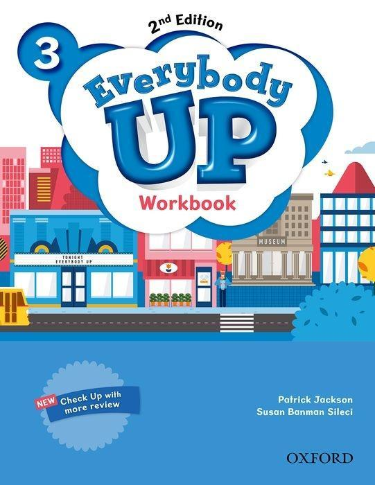 Everybody Up 3. Workbook als Buch von Patrick Jackson, Susan Banman Sileci, Kathleen Kampa, Charles Vilina