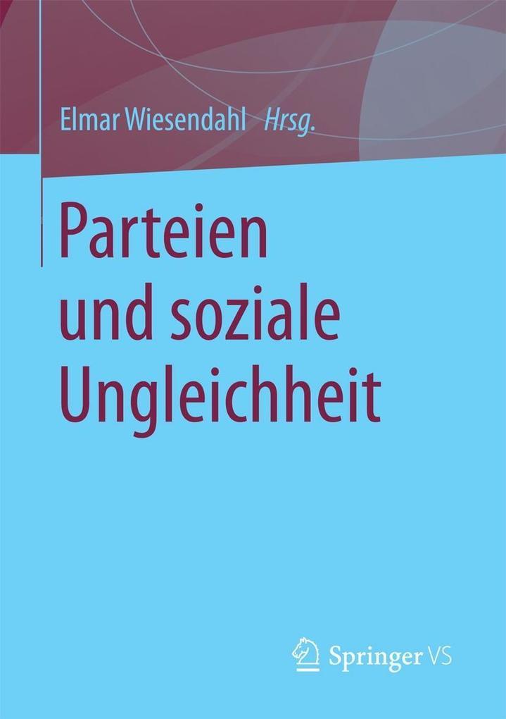 Parteien und soziale Ungleichheit als eBook von