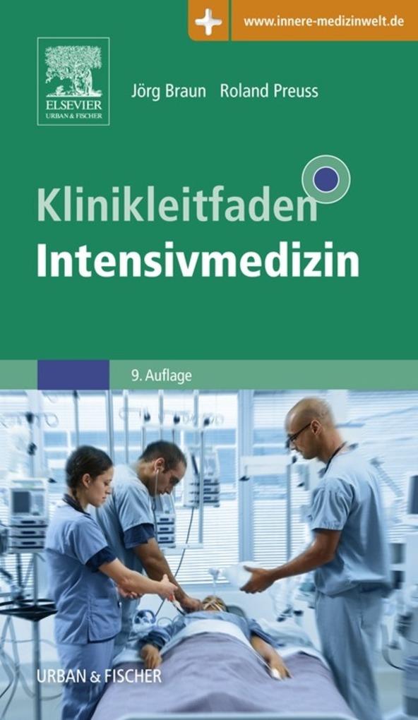 Klinikleitfaden Intensivmedizin als eBook von