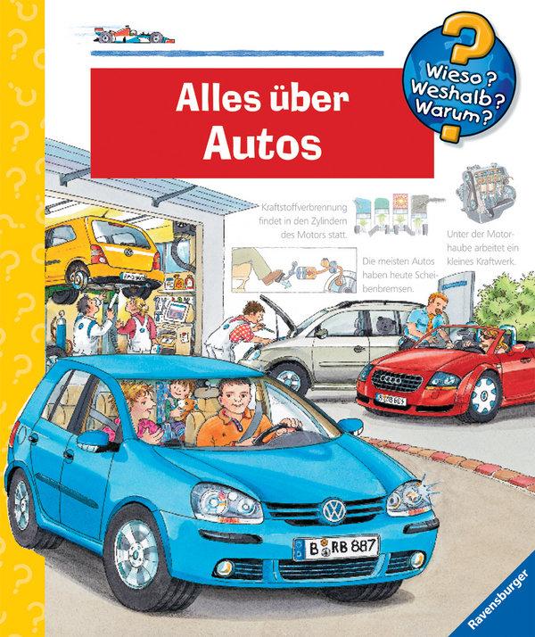 Alles über Autos als Buch von Andrea Erne, Wolfgang Metzger