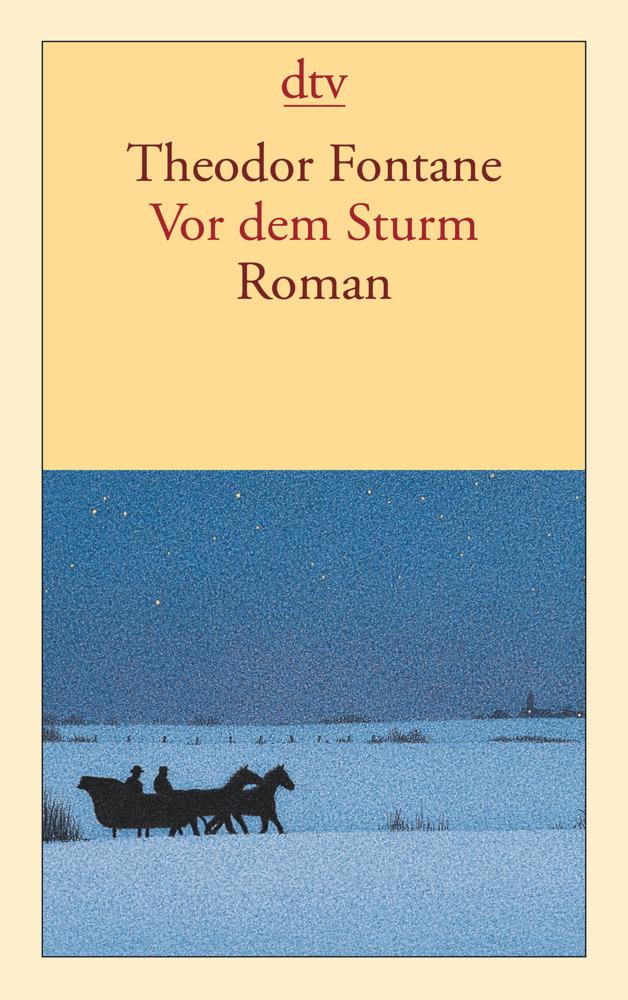 Vor dem Sturm als Taschenbuch von Theodor Fontane