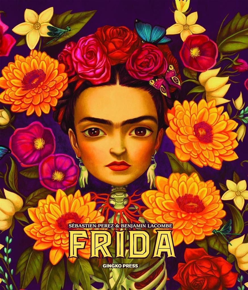 Frida als Buch von Sébastian Perez, Benjamin Lacombe