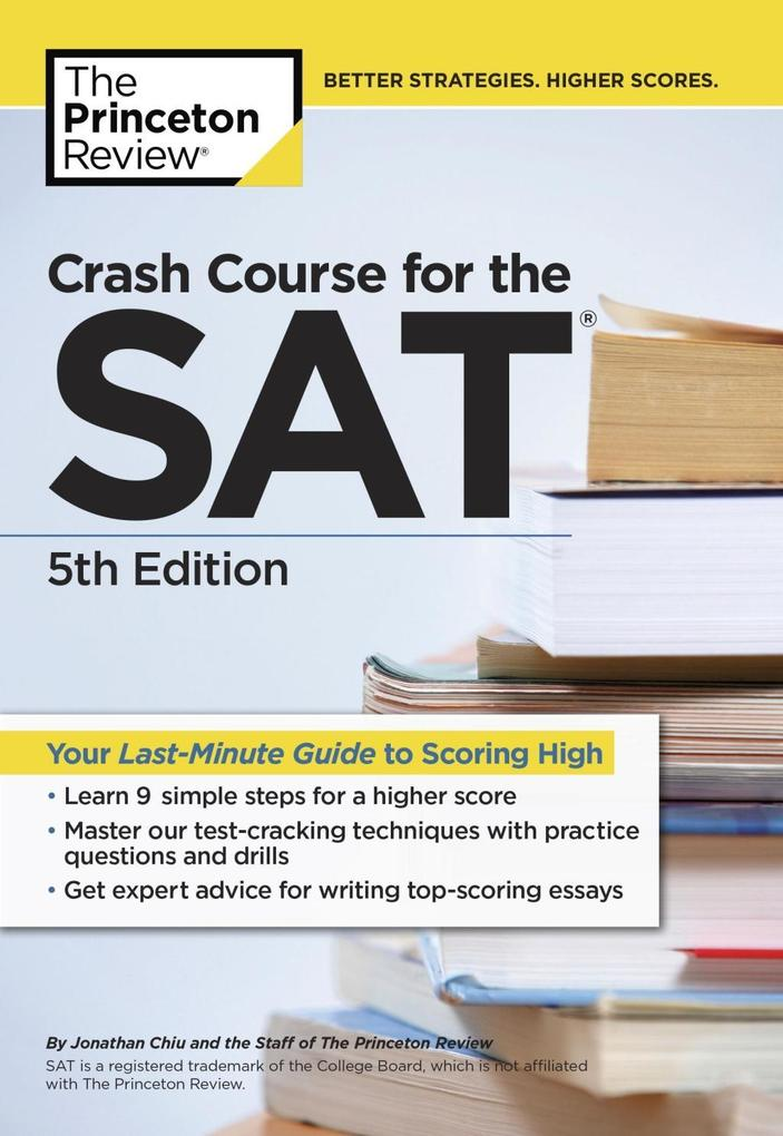 Crash Course for the SAT, 5th Edition als eBook...