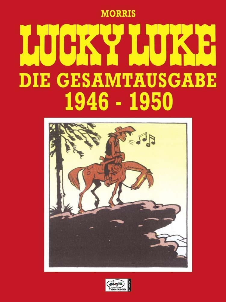 Lucky Luke Gesamtausgabe 1946 - 1950 als Buch von René Goscinny, Morris