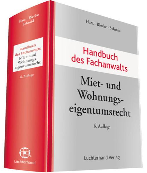 Handbuch des Fachanwalts Miet- und Wohnungseige...