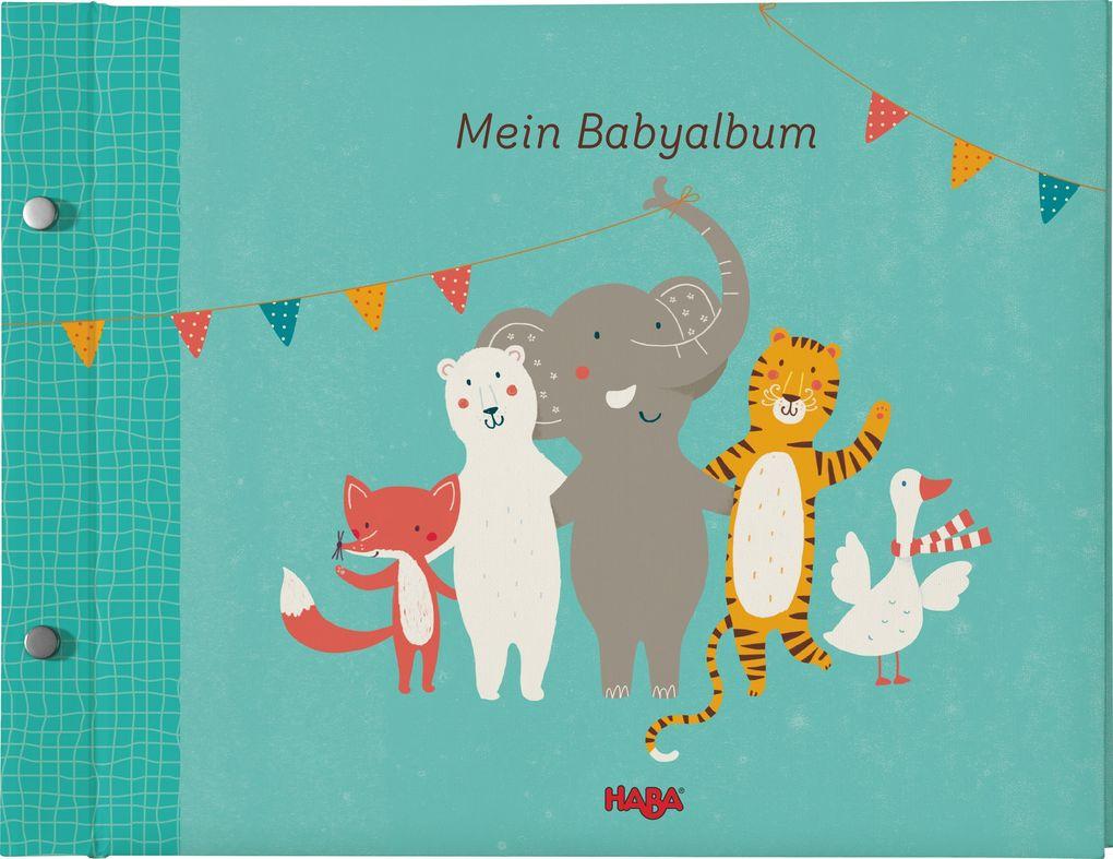 Mein Babyalbum, türkis als Buch von Anja Freudiger