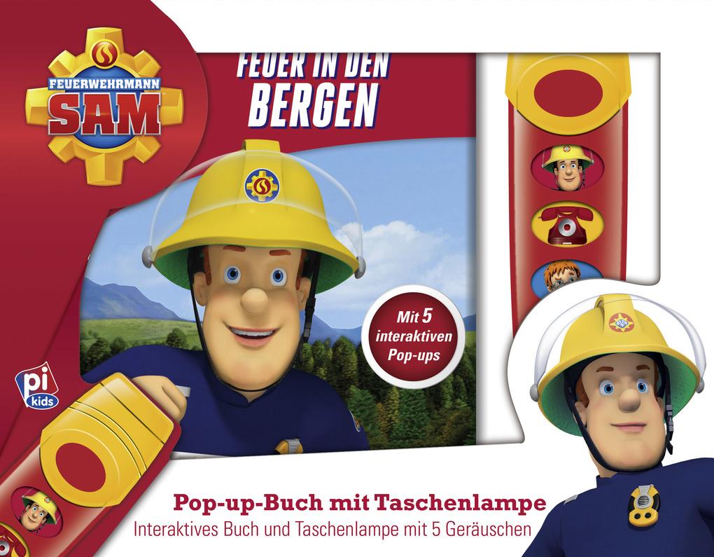 Feurwehrmann Sam - Feuer in den Bergen, als Buch von