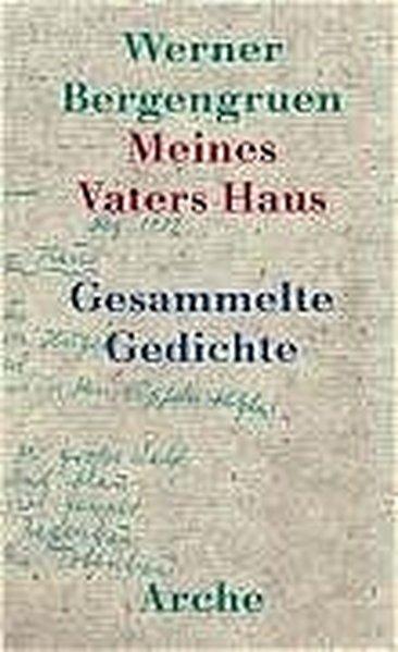 Meines Vaters Haus als Buch von Werner Bergengruen