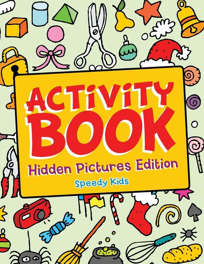 Activity Book - Hidden Pictures Edition als Tas...