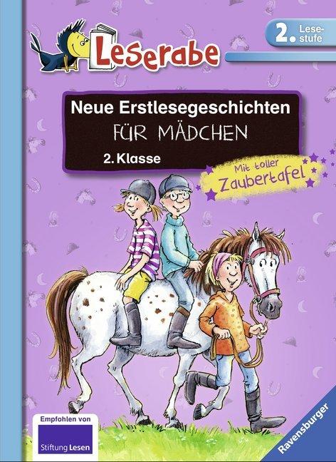 Neue Erstlesegeschichten für Mädchen 2. Klasse als Buch von Claudia Ondracek, Cornelia Ziegler, Alexandra Fischer-Hunold