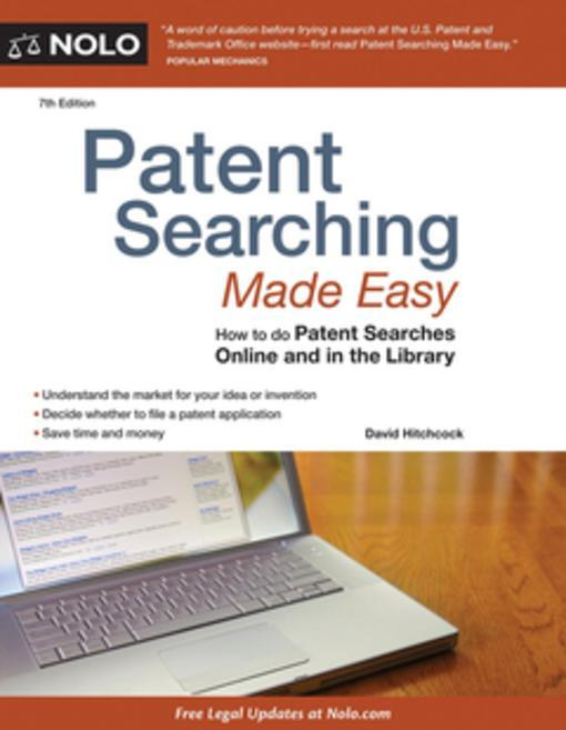 Patent Searching Made Easy als eBook von David ...