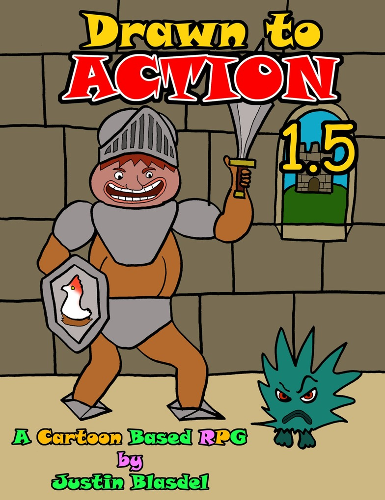 Drawn to Action 1.3: A Cartoon RPG als eBook vo...