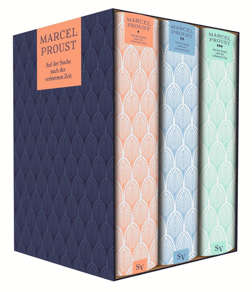 Auf der Suche nach der verlorenen Zeit als Taschenbuch von Marcel Proust