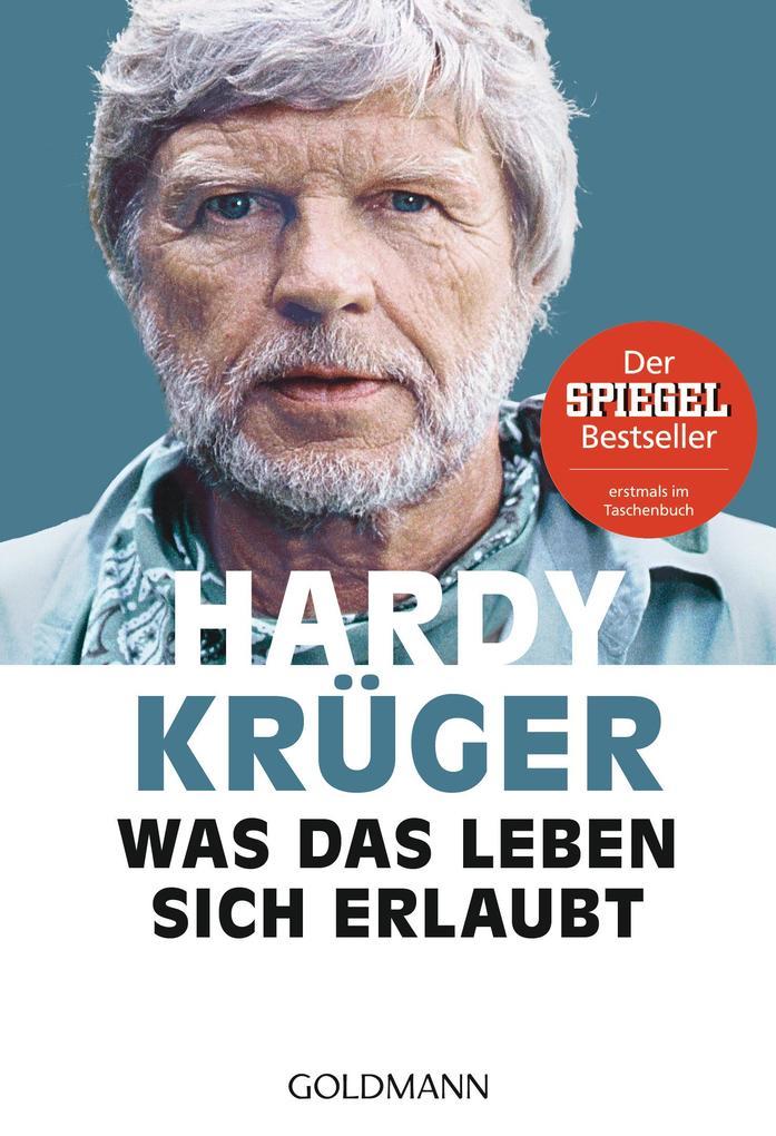 Was das Leben sich erlaubt als Taschenbuch von Hardy Krüger