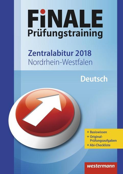 FiNALE Prüfungstraining 2018 Zentralabitur Nordrhein-Westfalen als Buch von Marina Dahmen, Katrin Jacobs, Martin Kottkamp, Helmut Lindzus