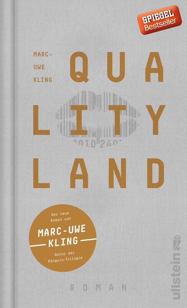 QualityLand als Buch von Marc-Uwe Kling