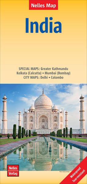 India 1 : 4 500 000 als Buch von