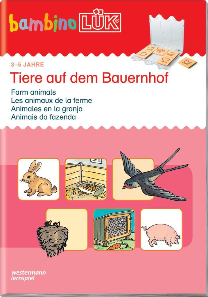 LÜK. Bambino. Tiere auf dem Bauernhof als Buch von