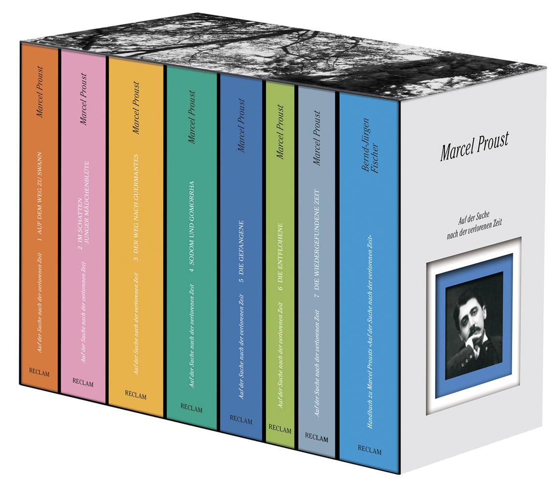 Auf der Suche nach der verlorenen Zeit. Gesamtausgabe als Buch von Marcel Proust, Bernd-Jürgen Fischer