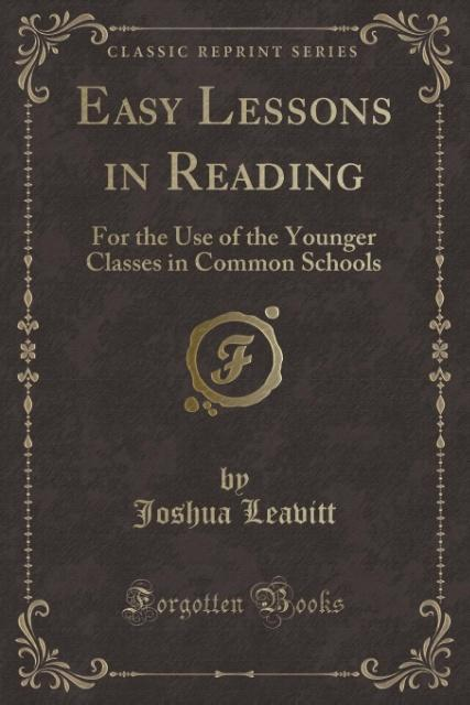 Easy Lessons in Reading als Taschenbuch von Jos...