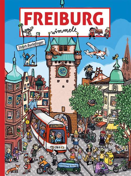 Freiburg wimmelt als Buch von Steph Burlefinger