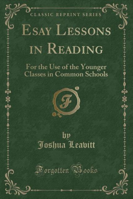 Esay Lessons in Reading als Taschenbuch von Jos...