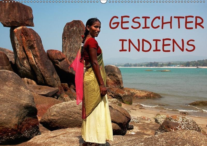 Gesichter Indiens (Wandkalender 2018 DIN A2 quer)