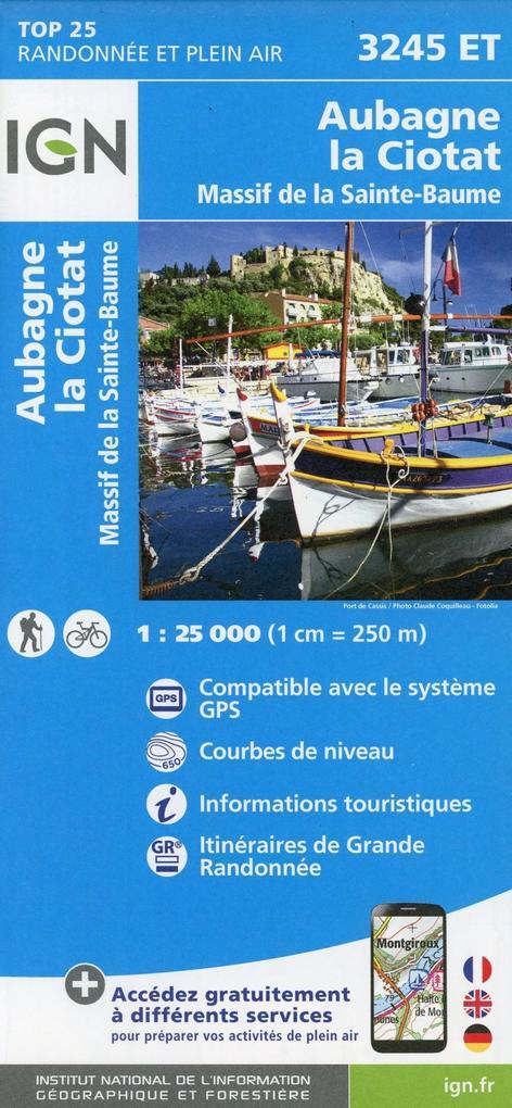 Aubagne - la Ciotat - Massif de la Sainte-Baume...