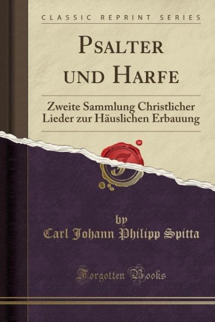 Psalter und Harfe als Taschenbuch von Carl Johann Philipp Spitta