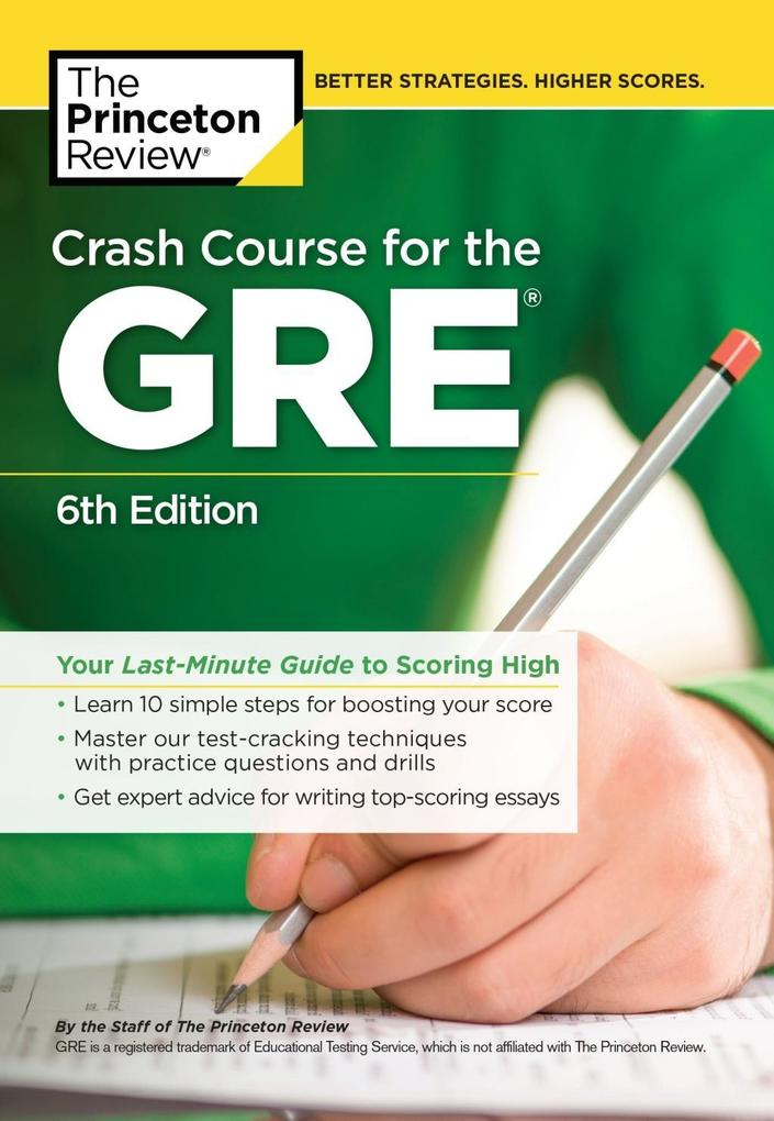 Crash Course for the GRE, 6th Edition als eBook...