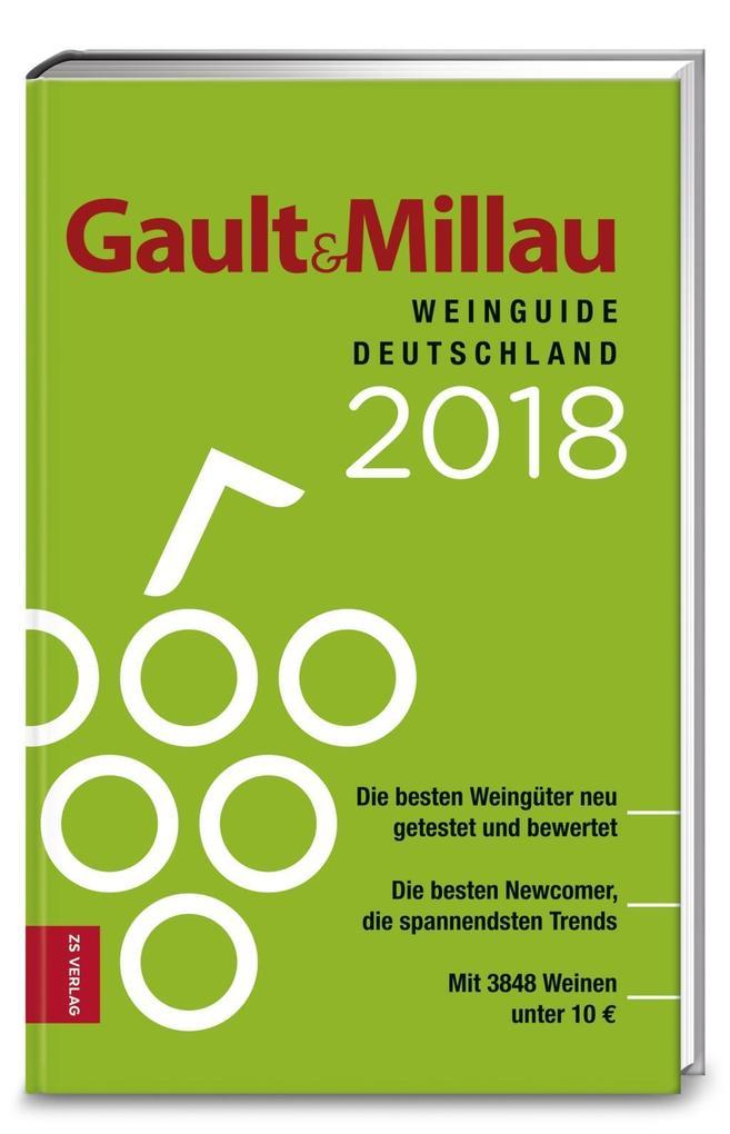 Gault&Millau WeinGuide Deutschland 2018 als Buc...