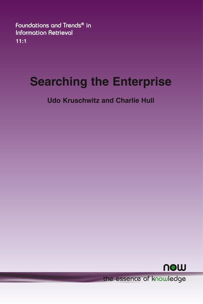 Searching the Enterprise als Taschenbuch von Ud...
