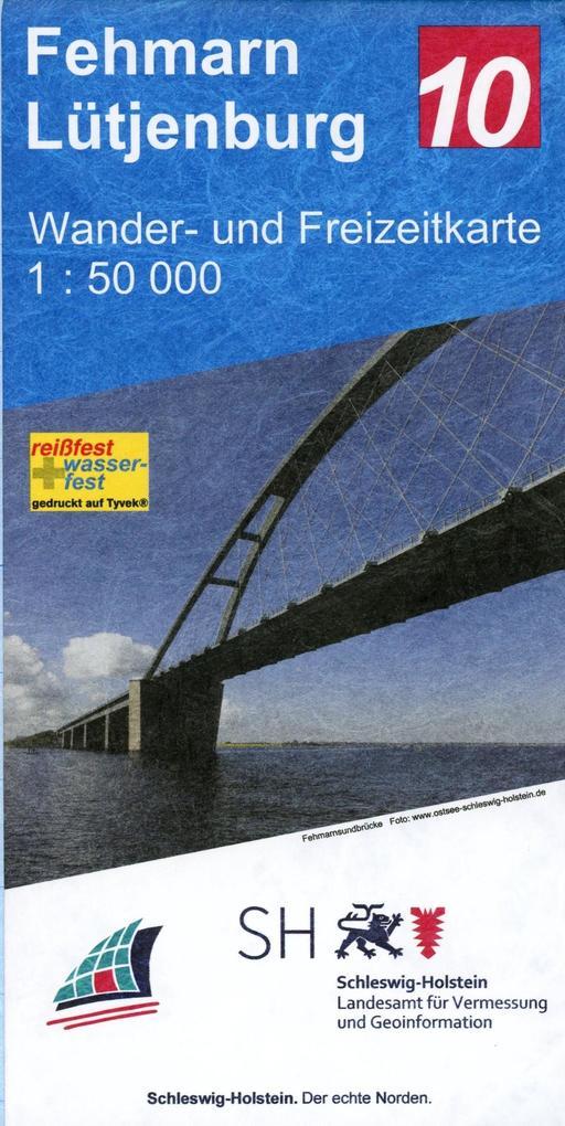 Fehmarn - Lütjenburg 1:50 000 als Buch von