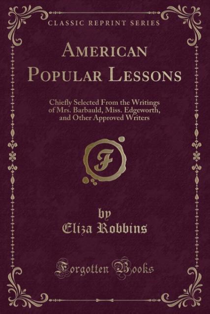 American Popular Lessons als Taschenbuch von El...