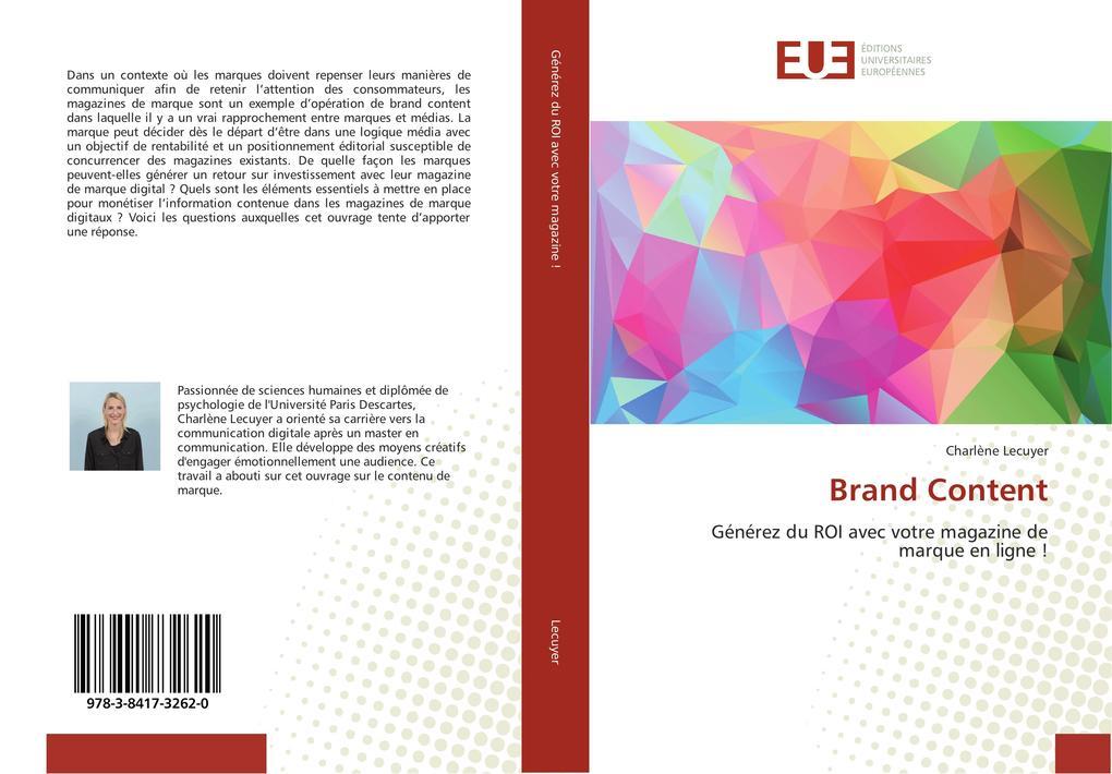 Brand Content als Buch von Charlène Lecuyer