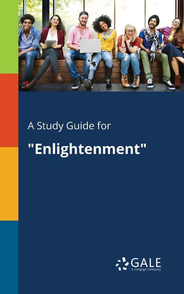 9781375379533 - A Study Guide for Enlightenment als Taschenbuch von Cengage Learning Gale - كتاب