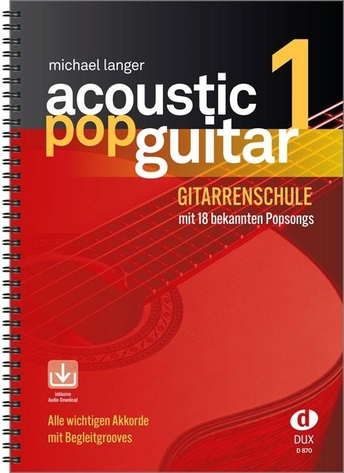 Acoustic Pop Guitar als Buch von Michael Langer