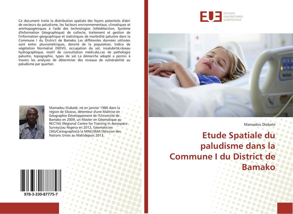 Etude Spatiale du paludisme dans la Commune I d...