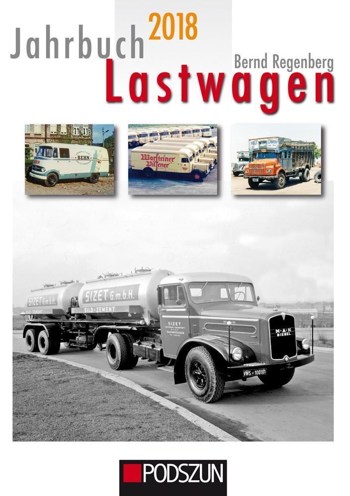 Jahrbuch Lastwagen 2018 als Buch von Bernd Regenberg