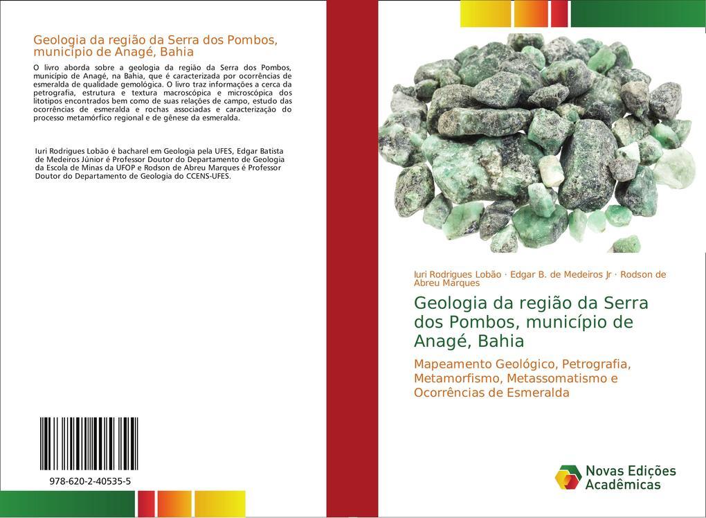 Geologia da região da Serra dos Pombos, municíp...